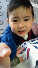 ジャガー横田 公式ブログ/こんな顔で「抱っこ!」と言われちゃうと・・・(; ´∩`) 画像3