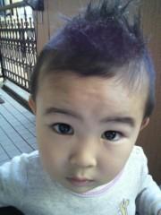 ジャガー横田 公式ブログ/好評につき…モヒカンのアップ写メ!!(*^-')b 画像1
