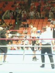 ジャガー横田 公式ブログ/WBA世界スーパーフライ級タイトルマッチ! 画像3