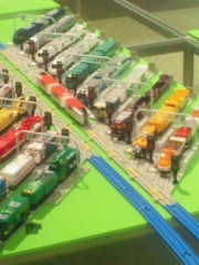 ジャガー横田 公式ブログ/「大鉄道博」に行って来ました!\(^_^)/ 画像3