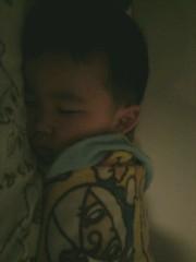 ジャガー横田 公式ブログ/隣りで寝ている…我が子!(*^^*) 画像1