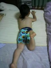 ジャガー横田 公式ブログ/初めての水着姿… 画像2