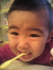 ジャガー横田 公式ブログ/歯みがき… 画像1