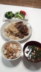 ジャガー横田 公式ブログ/二人の食卓… 画像2