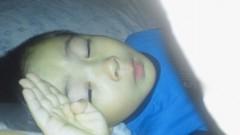 ジャガー横田 公式ブログ/寝てると思いきや!? 画像2