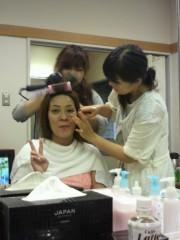 ジャガー横田 公式ブログ/おはよー!はなまるカフェ準備中…(*^^*) 画像1