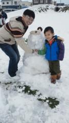 ジャガー横田 公式ブログ/雪だるま!(*^_  ') 画像1