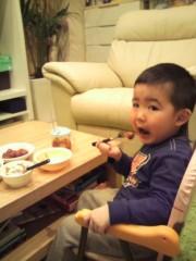 ジャガー横田 公式ブログ/夕飯の時に…心痛かったぁ!(>_<) 出来事… 画像1
