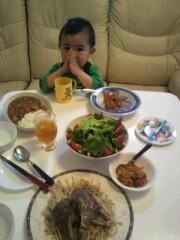 ジャガー横田 公式ブログ/夕食は…(~_~;) 画像1
