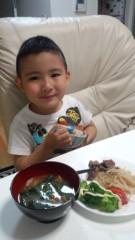 ジャガー横田 公式ブログ/二人の食卓… 画像1