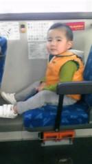 ジャガー横田 公式ブログ/バスに乗って…(^-^)v 画像1