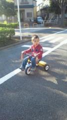 ジャガー横田 公式ブログ/三輪車!(*^_^*) 画像3