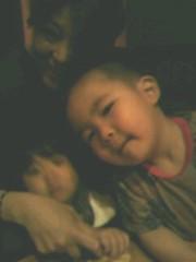 ジャガー横田 公式ブログ/友人の息子一歳三ヶ月…ゴシラの如く大暴れ!(~_~;) 画像1