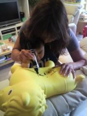 ジャガー横田 公式ブログ/大維志の黄色のお馬さん!! 覚えてる!? 画像1