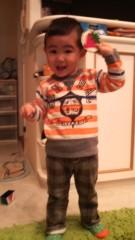 ジャガー横田 公式ブログ/大維志が「ママ、パパいってきまーす!」だって!!(*^^*) 画像1
