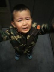 ジャガー横田 公式ブログ/ママ…抱っこ〜っ!の瞬間!!(-_-;) 画像1