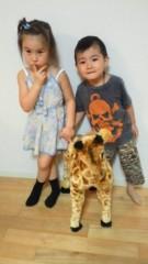 ジャガー横田 公式ブログ/千春ちゃんと小春ちゃん!\(^^) / 画像3