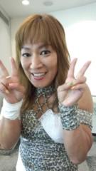ジャガー横田 公式ブログ/試合じゃないよー!!(^_-) 画像2