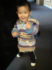 ジャガー横田 公式ブログ/おはよう!幼稚園行くよー!!(^_^)/( ^^)/ 画像2