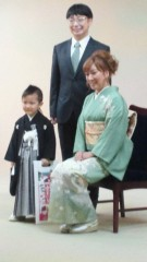 ジャガー横田 公式ブログ/七五三の御祝い。 画像2