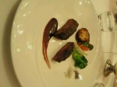 ジャガー横田 公式ブログ/美味しかったランチコース!(*^_  ') 画像1