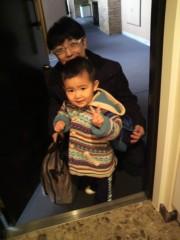 ジャガー横田 公式ブログ/おはよう!幼稚園行くよー!!(^_^)/( ^^)/ 画像1