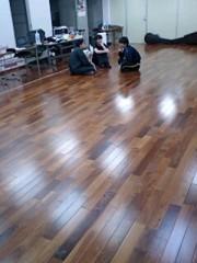岡内美喜子 公式ブログ/朝のミーティング♪ 画像1