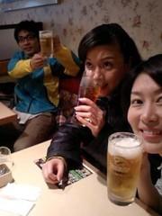 岡内美喜子 公式ブログ/徹夜で撮影♪ 画像2