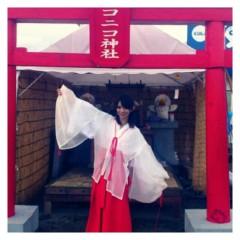 中谷あすみ 公式ブログ/ニコニコ神社 画像2