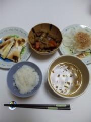 加藤ゆき 公式ブログ/昨日の夕食 画像1