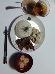 加藤ゆき 公式ブログ/aki's cafe plate 画像1
