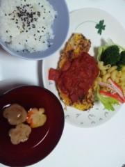 加藤ゆき 公式ブログ/今日の夕食 画像1