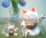 天地総子 公式ブログ/招き猫パート2 画像1