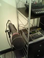 健(LOGiC) 公式ブログ/今日のmicrophone はテクニカ( ・・)b 画像1