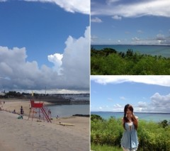 朝比奈ゆうひ 公式ブログ/沖縄ビーチ(・ω・)ノ 画像1