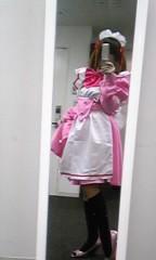 朝比奈ゆうひ 公式ブログ/ ピンクのメイドさん( *бωб) 画像2