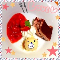 朝比奈ゆうひ 公式ブログ/苺のティラミス(・ω・)ノ♥ 画像1