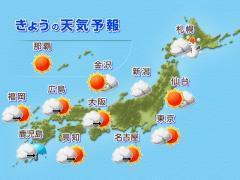 朝比奈ゆうひ 公式ブログ/ 今日の天気と気温( *бωб) 画像1
