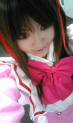 朝比奈ゆうひ 公式ブログ/ ピンクのメイドさん( *бωб) 画像1