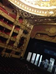 朝比奈ゆうひ プライベート画像/ゆうひが観た景色 オペラ座とゆうひ
