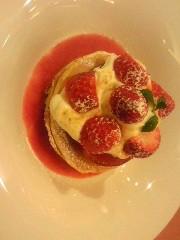 朝比奈ゆうひ 公式ブログ/イチゴのパンケーキ 画像1