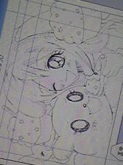 朝比奈ゆうひ 公式ブログ/ 今日描いた漫画の原稿( *бωб) 画像1