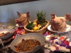 朝比奈ゆうひ 公式ブログ/沖縄料理とすいぞくパン(^ν^) 画像2