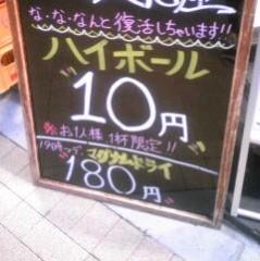 朝比奈ゆうひ 公式ブログ/これは安い?高い? 画像1