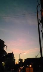 朝比奈ゆうひ 公式ブログ/今日の夜明け 画像2