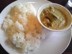 朝比奈ゆうひ 公式ブログ/タイのグリーンカレー 画像1