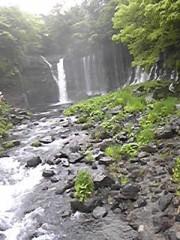 朝比奈ゆうひ 公式ブログ/ 白糸の滝に行きました⊂(*^ω^*)⊃ 画像2