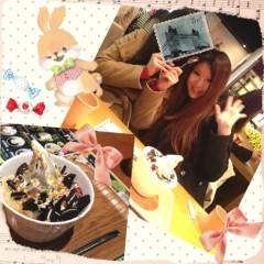 朝比奈ゆうひ 公式ブログ/友達とカフェ(・ω・)ノ 画像1