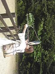 朝比奈ゆうひ 公式ブログ/ 弓矢をひくゆうひ⊂(*^ω^*)⊃ 画像2