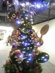 朝比奈ゆうひ 公式ブログ/クマのクリスマスツリー♪ 画像1